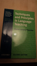 Techniques and principles in language te