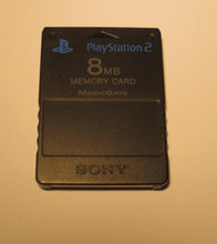 PS2, memory card 8mb
