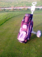 Golf Bag med Vogn