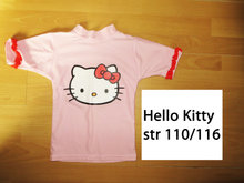 13) str 110/116 badebluse m. Hello Kitty