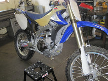 Yamaha YZ450F Fuel injection
