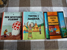 18 tegneseriealbum,Tintin, Anders And mm