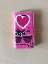 Iphone 4/4S cover med magnet luk