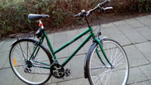 Dame cykel med 18 28""
