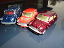 Corgi Toys Morris Mini-Minor 3 stk