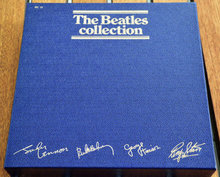 THE BEATLES COLLECTION BLUE BOXED SET