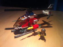 Lego City 7238 - Fire helicopter