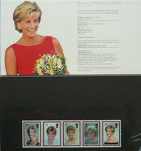 Memorial Coin + Royal Mint Stamps