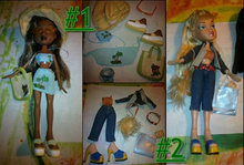 Bratz - Fashion Pack, Shoe Pack og bil