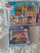 Ramasjang spil og Disney super color pus