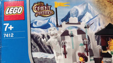 Lego 7412  Orient Expedition: Yeti's Hid