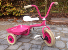 Pink Winther trehjulet cykel