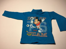 Bluse Mickey Mouse spiller fodbold