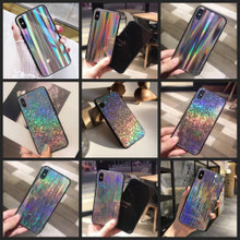Holografisk silikone cover iPhone X XS