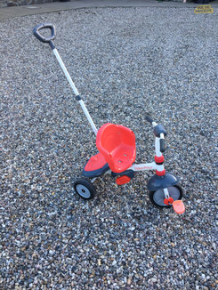 Fisher Price 3 i 1 cykel, billede 1