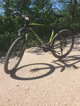 Fin mountainbike