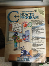 C++ How to program  fifth edition