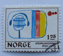 Norge - AFA 726 - Stemplet
