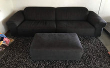 Eilersen soft ICE 4 Pers. Sofa med puf