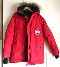 Canada Goose Expedition Parka, Rød