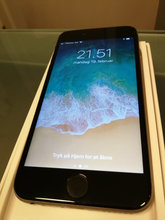 Iphone 6 128 GB Sort ( FLOT STAND )