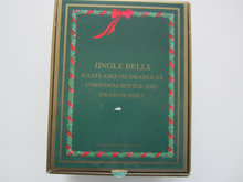 "Julekaraffel ""Jingle Bells"" med 2 glas."