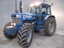 Ford 8210. 4 wd