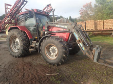 Case IH 5130 med Frontlæsser Turbo
