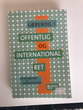 Offentlig og international ret