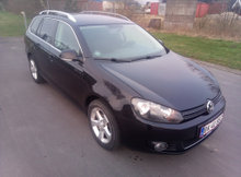 VW Golf Variant DSG 1,6 TDI Bluemotion