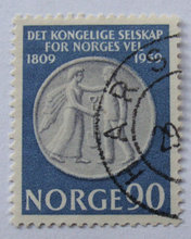Norge - AFA 444 - Stemplet