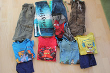 11 shorts/t-shirts str. 110/116