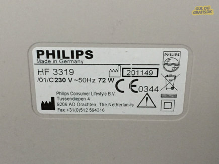 Philips Energy Light HF3319/01, billede 1