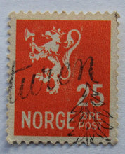 Norge - AFA 333 - Stemplet