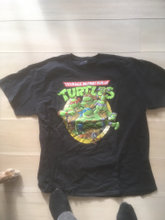 Turtles T-shirts 4. stk