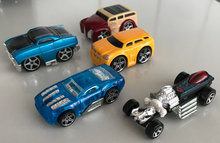 HOT WHEELS: Dodge, Chevy'67 m.fl.