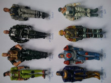 Action Force figurer 8 stk