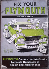 Fix your Plymouth.