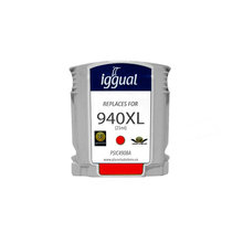 Recycled Ink Cartridge iggual HP PSIC4908A Magenta