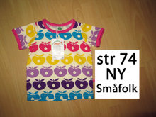 163) str 74 NY Småfolk t-shirt