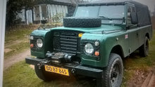 land Rover veteran