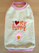 "Puppy pullover ""Girl"""