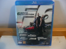 Fast and the Furious 6 movie Collection