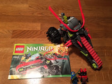 Ninjago Worrier Bike 70501