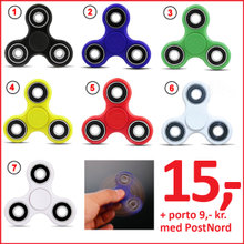 FIDGET SPINNERS - LED FIDGET SPINNER