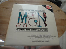 LP - Songs for and about Men - Burl Ives