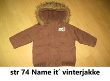363) str 74 Name it? vinterjakke