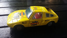 Mercedes Benz Tin Toys Taxi no.3