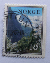 Norge - AFA 741Cv + 741Ch - Stemplet