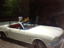 1964 Ford Mustang cabriolet . Total reno